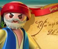 Пират в поисках сокровищ