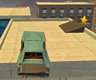 Игры гонки:Трюки машины на крыше