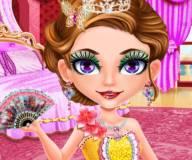 Макияж для лица принцессы