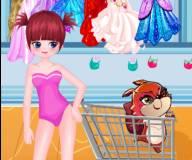 Мия и Венди на шоппинге