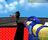 Майнкрафт:Пейнтбол 3д пиксель