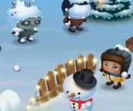 Игры про зомби:Снежки Z