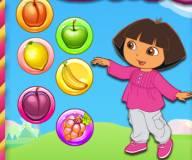 Игры Даша путешественница:Фруктовые пузыри Даши