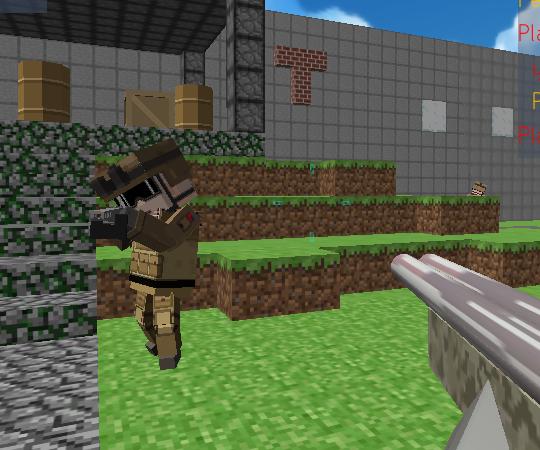 играть майнкрафт стрелялки #8