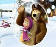 Маша и медведь ищут предметы