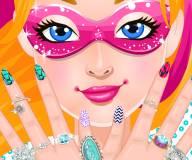 Супер ногти супер принцессы Барби