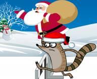 Новогоднее соревнование Ригби и Мордекая