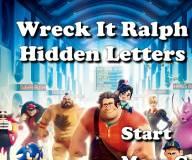 Помоги Ральфу найти спрятанные буквы