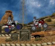Игры гонки:Гонки на квадроциклах в пустыне