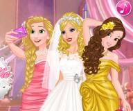 Селфи на свадьбе принцессы