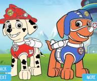 Раскраска щенячего патруля