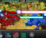 Поле боя динозавров роботов