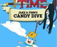 Время приключений:Фин и Джейк ныряют в конфеты