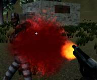 Игры стрелялки:Армия зачищает остров от зомби 2