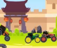 Гонки на тракторах в Китае