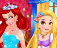 Принцессы Дисней на конкурсе макияжа
