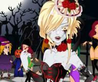 Макияж зомби принцессы