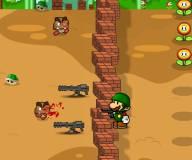 Марио защищается от зомби