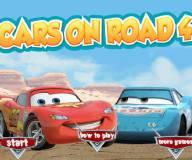 Игры гонки:Тачки на дороге 4