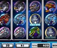 Динозавры роботы игровой автомат
