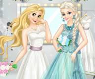 Свадьба принцесс Дисней Рапунцель и Эльзы