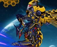 Роботы:Пчела робот-трансформер