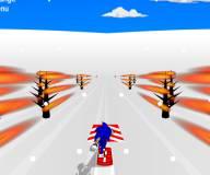 Соник:Соник 3д на сноуборде