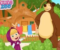 Маша и медведь Летнее веселье