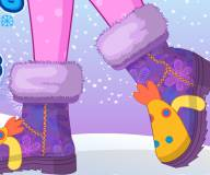 Мои зимние ботинки