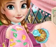 Спа ногтей Ледяной принцессы Анны