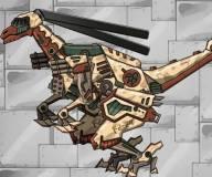 Галлимим робот вертолет