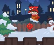 Битва снежками 1