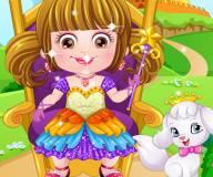 Малышка Хейзел принцесса