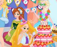 День рождения Рапунцель