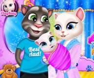 Говорящий кот:Семейны портрет Тома и Анжелы