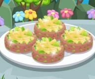 Готовим тартар из тунца и салат с сельдереем