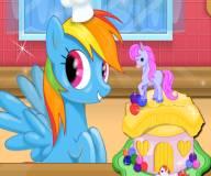 Пони:Торт на день рождени Флаттершай