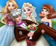 Свадебное фото Эльзы