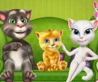 Говорящий кот:Говорящие друзья переезжают в новый дом