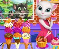 Говорящий кот:Магазин мороженого Анжелы