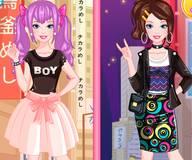 Барби в Токио Кавайный и уличный образ