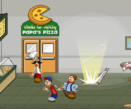 игры папы пиццы