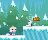 На двоих:Снежная королева Эльза спасает принцессу