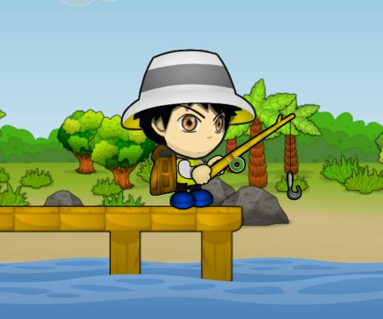 играть в счастливый рыбак