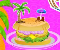 Готовим гавайский бургер