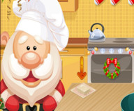 Игры на Новый год:Печем рождественский торт