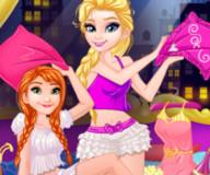 Пижамная вечеринка Анны и Эльзы