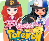 Принцессы Диснея тренеры покемонов