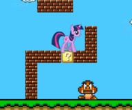 Май литл пони Марио