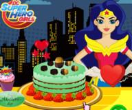 Супергеройский DC тортик